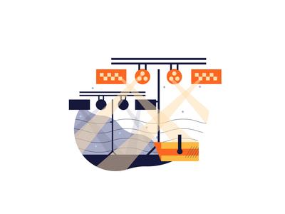 Silent Disco - Spot illustrations