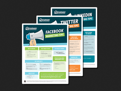 social media flyers indesign layout print