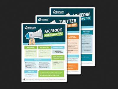 social media flyers