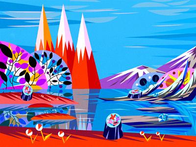 Final Game Art Background background design background art indiegame indiedev game development game developer game dev game art game design illustration