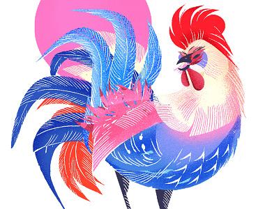 Happy Rooster Year! gunghayfatchoy gongxifacai torontoillustrator rooster yearoftherooster chineseartist chinesenewyear lunarnewyear lunaryear