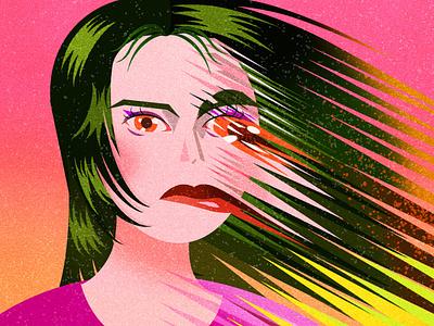 I'm Fine/Save Me design illustration artist illustration design illustration art jenn liv illustrator illustration