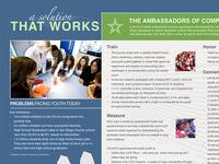 Ambassadors of Compassion Brochure