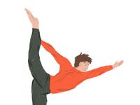 Yoga pose 3