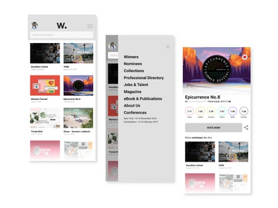 Awwwards Pages