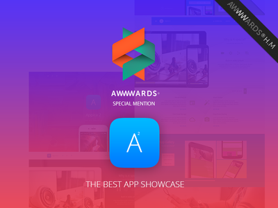 Appica 2. Special Mention! appica 2 lollipop ios theme awwwards winner app web site logo