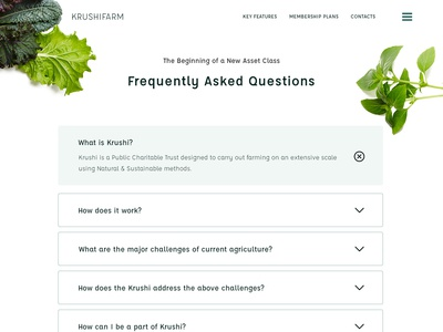 FAQ: Krushi Farm