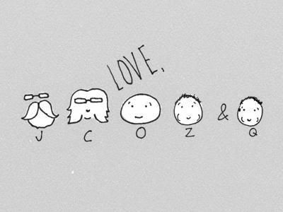 Family illustration illustration hand drawn pen family personal