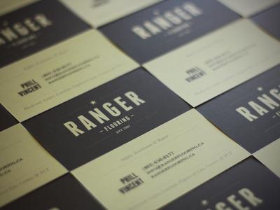 Ranger Flooring Business Card