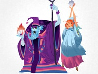 Wizard and Princess