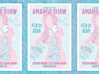 Amanda Shaw Poster