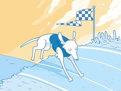 Campanha de Começo de Ano - ContaAzul 2017 contaazul year new dog run corrida campanha