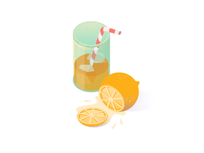 Summer and orange juice brazil brazilian brasil isometric illustration isometric set potion orange juice orange mug mint juice jar illustration glass cocktail youse