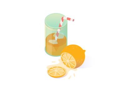Summer and orange juice
