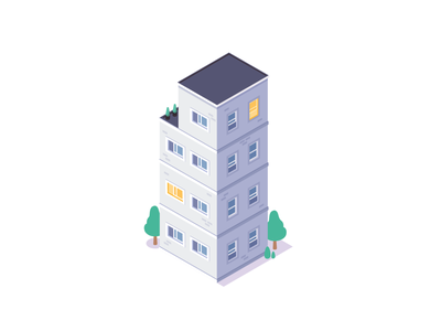 Apartment insurance illustraion isometric illustration youse apartment building isometric isometry
