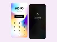 Money transfer app finance send money transfer money transfer money bank ios mobile product design ui uidesign uxui mockup