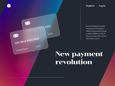 Payment Landing page darkmode branding desktop uxui product design uidesign ui mockup lanidgpage panding