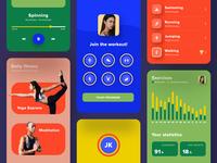 Fitness app 🏋️♀️