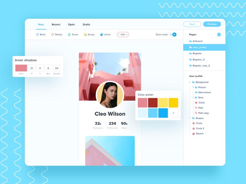 Design platform 🎨 design platform editor design uiux uidesign dashboard ui