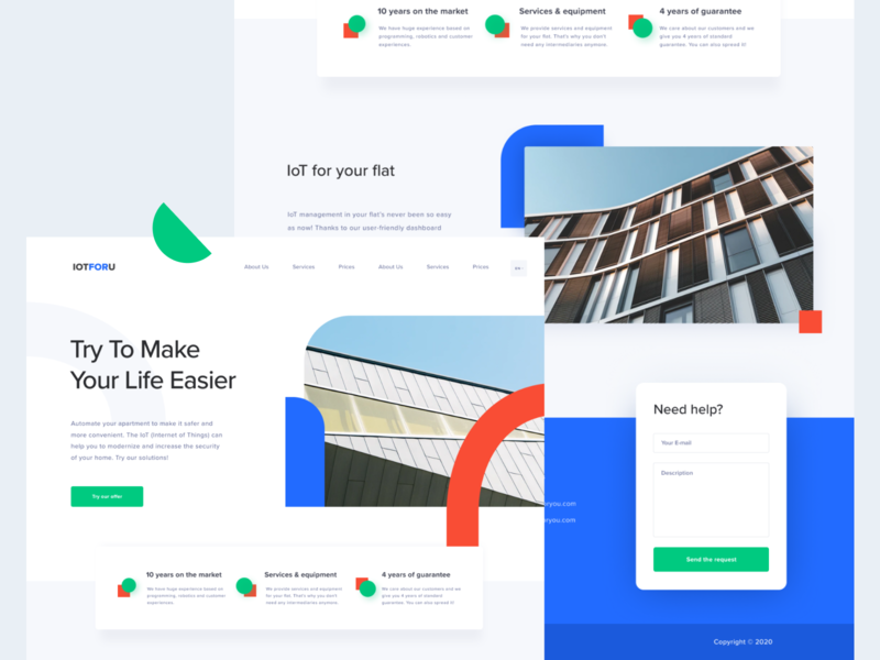 Geometry home page interface product design uxui ui mockup homepage design homepage