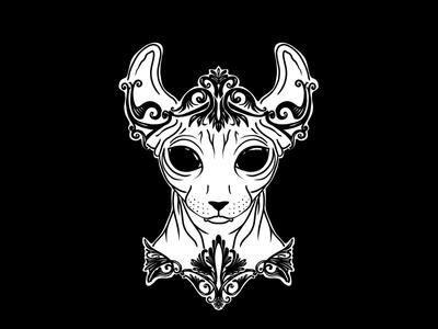 Elven Sphynx Cat