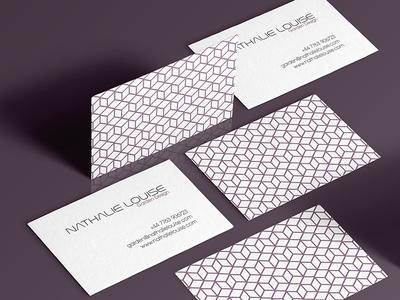 business card and logo design for a garden designer
