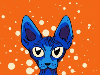 Blue Sphynx