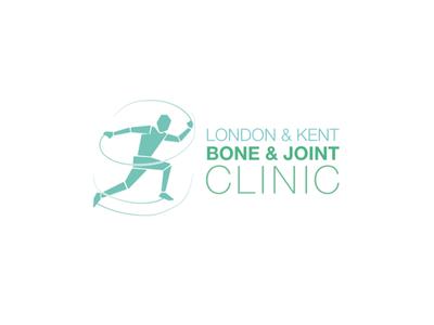 London & Kent Bone & Joint Clinic Logo Design