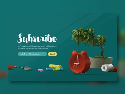 Daily UI 026 - Subscribe