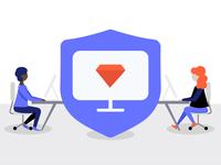 Fintech Insurance - Blog Cover Illustration