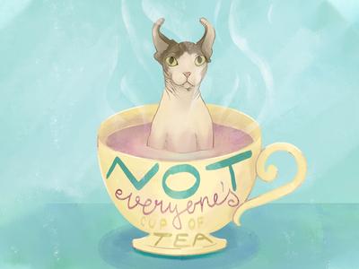 Not Everyone's Cup of Tea - Sphynx Elf - Part 5