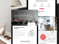 Coworking Space / Home Page