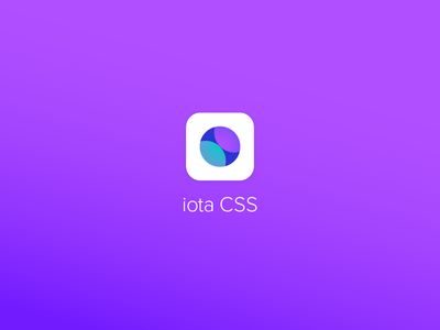 iota CSS logo