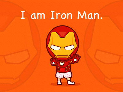 I am Iron Man