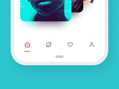 Cool Navigation 😎 vector ux ui bottom navigation bottom nav menu bar navigation ui  ux design icon icon a day