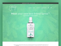 It's Here - The New Spritz Website