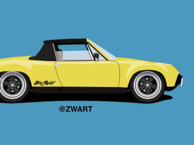 Jeff Zwart: Porsche 914-6 GT