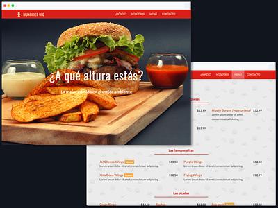 MunchiesUIO Website