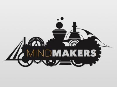 Mindmakers Project - Draft #3 illustration logo