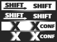 Shift - XConf Logo Draft