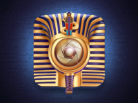 Tutankhamun Camera Icon