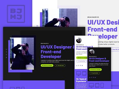 New year, new site hk grotesk barlow 11ty portfolio design portfolio website website ux ui portfolio