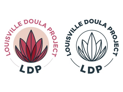 Late Night Dribbble Project line art logo nature plant succulent iconography icon branding logo