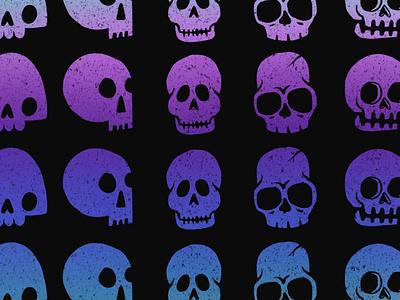 I want your grain grunge texture gradient skulls skull art skull