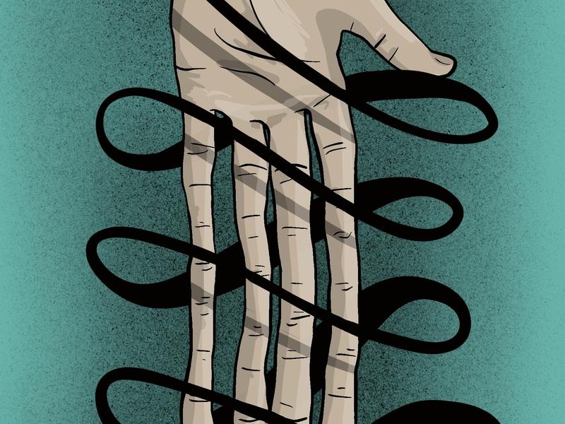 Script hands procreate anatomy hand illustration hands lettering