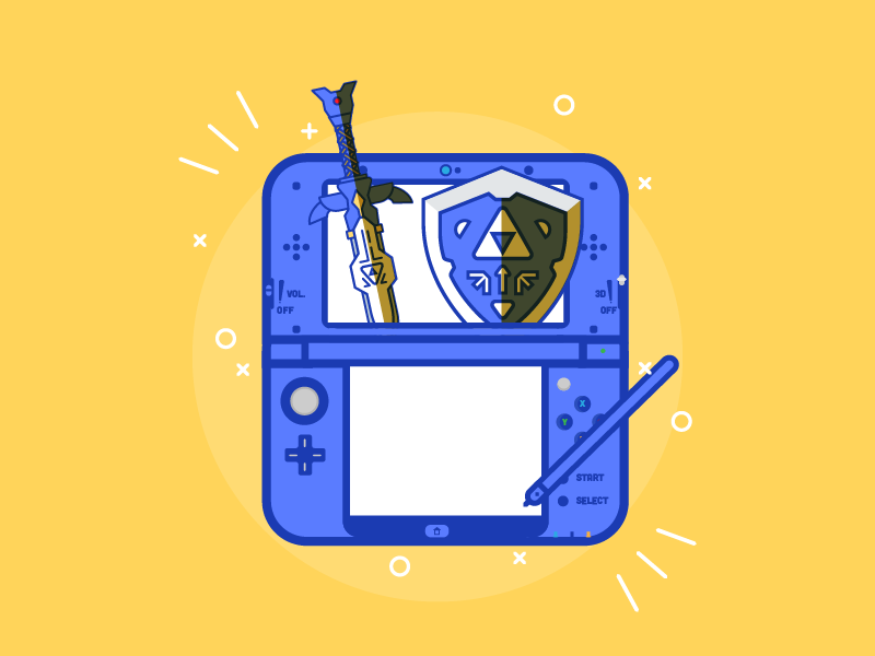 Nintendo 3DS by Christopher Chan on Dribbble