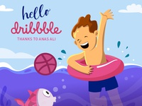 Hello Dribbble World