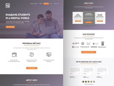 Home Page Design  web design landing page home page design