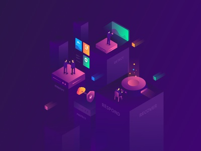 Isometric Hero Image hero image illustration isometric