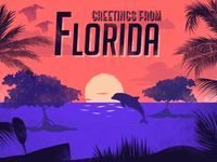 Postcard Florida